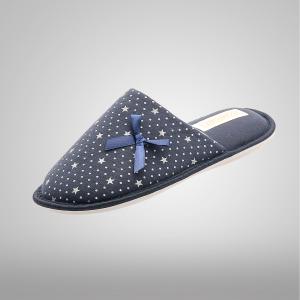Pantufla Confort Marino Estrellas