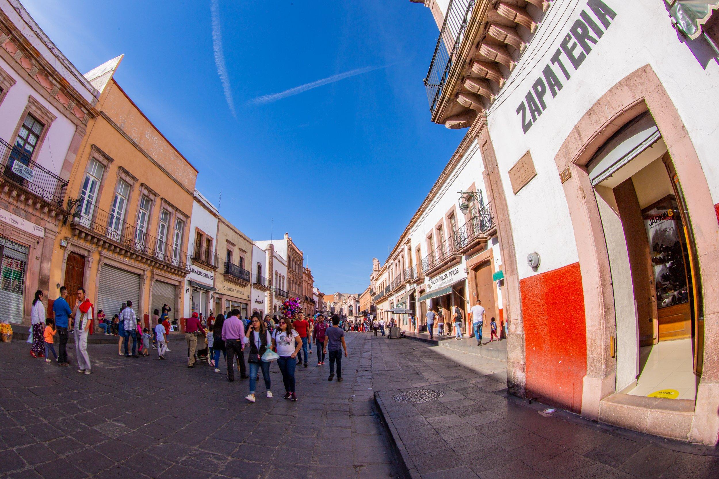 Avenida Hidalgo Zacatecas Zapatería Verónica
